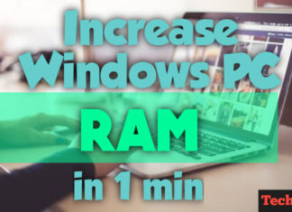 How to Increase RAM on Laptop for free