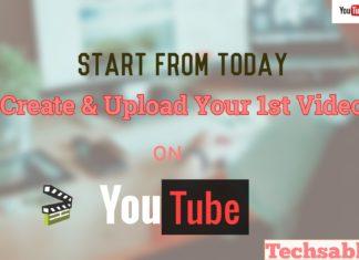 start make first youtube video
