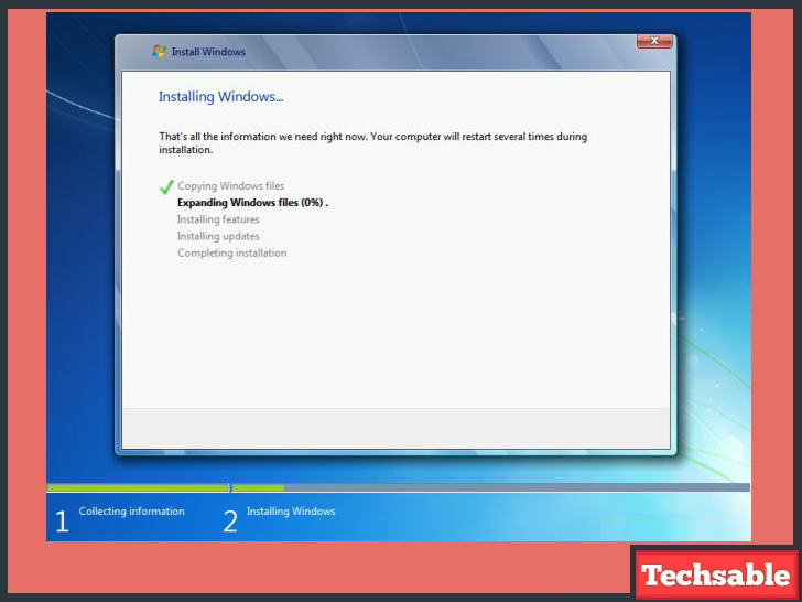 How to Install Windows 7 Using USB Pendrive