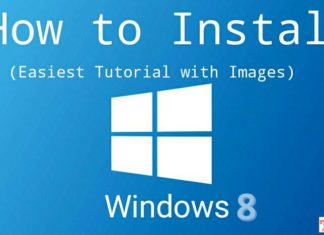 install windows 8, 8.1