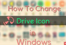 change windows hard drive icon