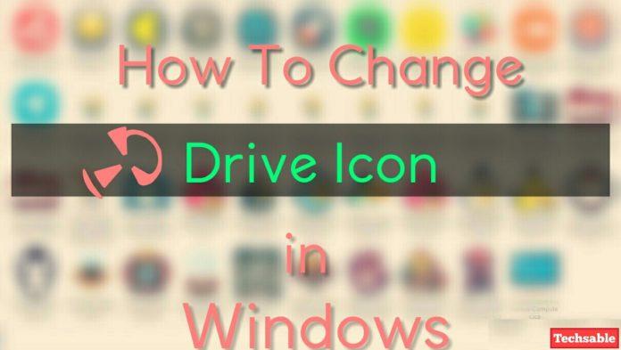 change windows hard drive icon
