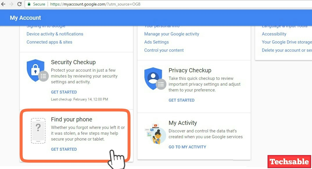 google mobile tracker