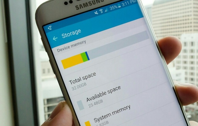 increase internal storage on android