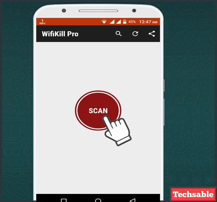 How to use Wifikill Apk to Kickout other Connected Wifi
