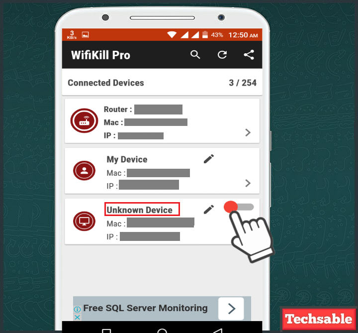 How to use Wifikill Apk