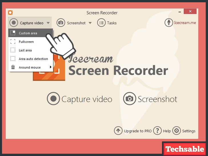 icecream screen recorder software