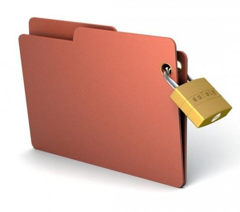 password protected folder