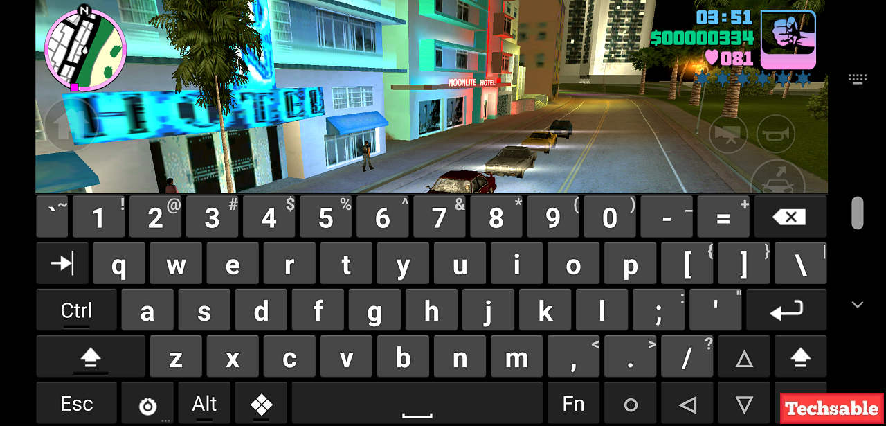 Vice city Android Cheat codes list