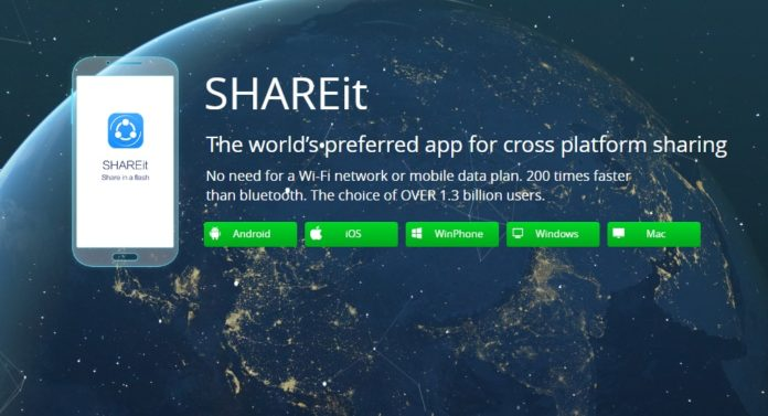 install shareit for pc