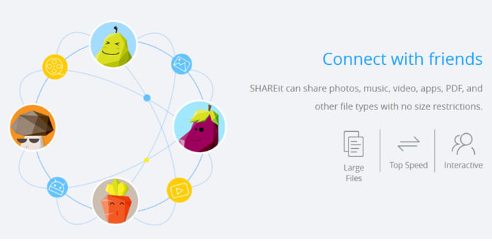 How to use Shareit on PC to Mobile