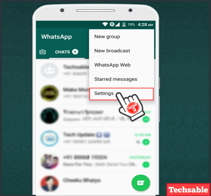 How to Know if Someone is Chatting on WhatsApp - Techsable
