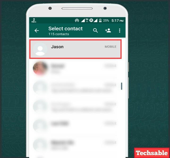 Whatsapp block check