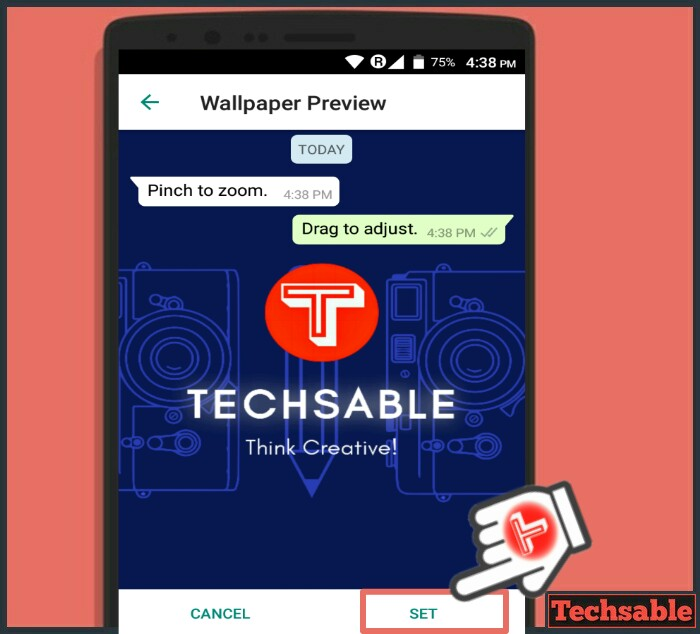 How to Change Wallpaper of WhatsApp Chat Screen
