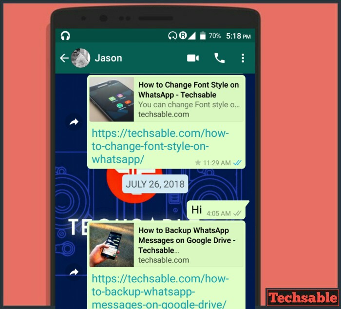 How to Change the Font Size in WhatsApp