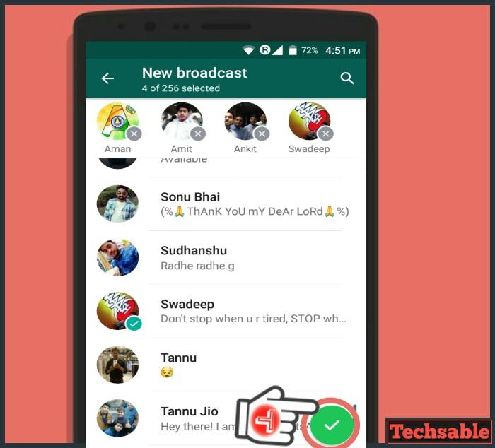 How to Create Broadcast List in WhatsApp