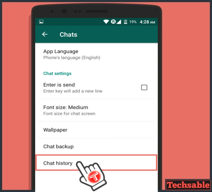 How to download WhatsApp Chat of Single Contact