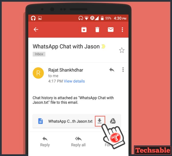 download whatsapp chat