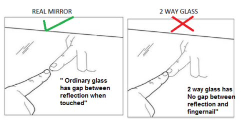 How To Detect real mirror