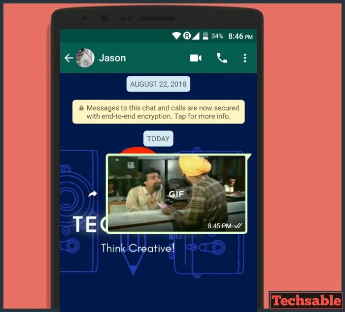 WhatsApp gif maker