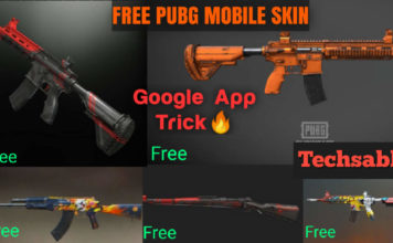 Free Skins in PUBG Mobile