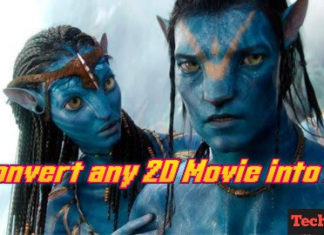 Convert 2D Movies into 3D on PC