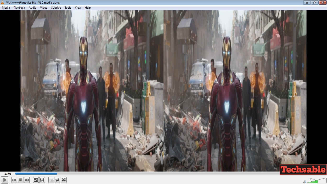 Watch 3D Movies on vlc