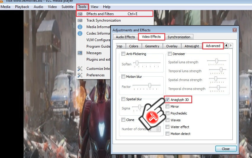 Watch 3D Movies on PC
