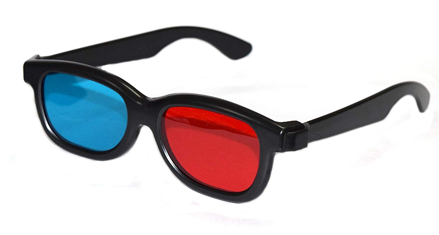 Watch 3D Movies with 3D polarized glasses