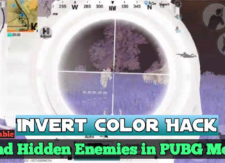 Find Enemies in PUBG Mobile