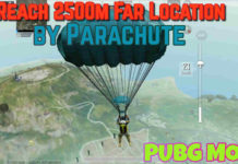 Land Far in PUBG Mobile