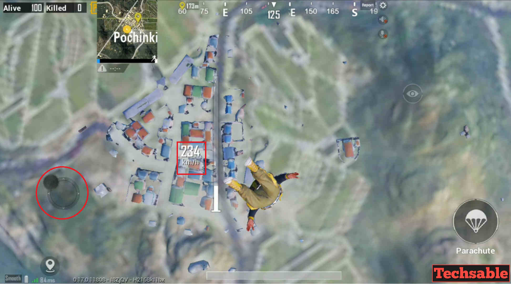 land faster in pubg mobile