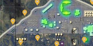 PUBG Mobile Loot Map