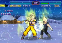 PSP Dragon Ball Z Game