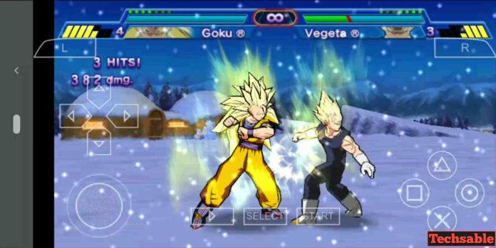 PSP Dragon Ball Z Game
