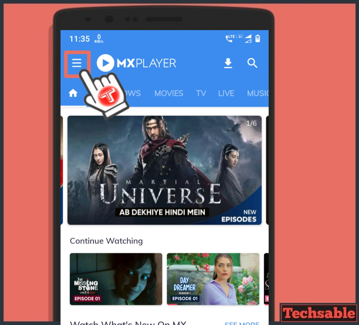MX player MX Share Files Sharing Apps for Android
