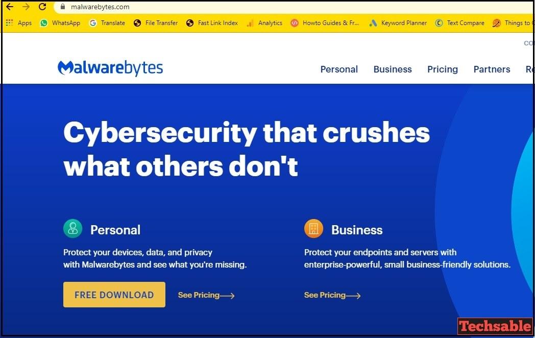 Antivirus scan malwarebytes