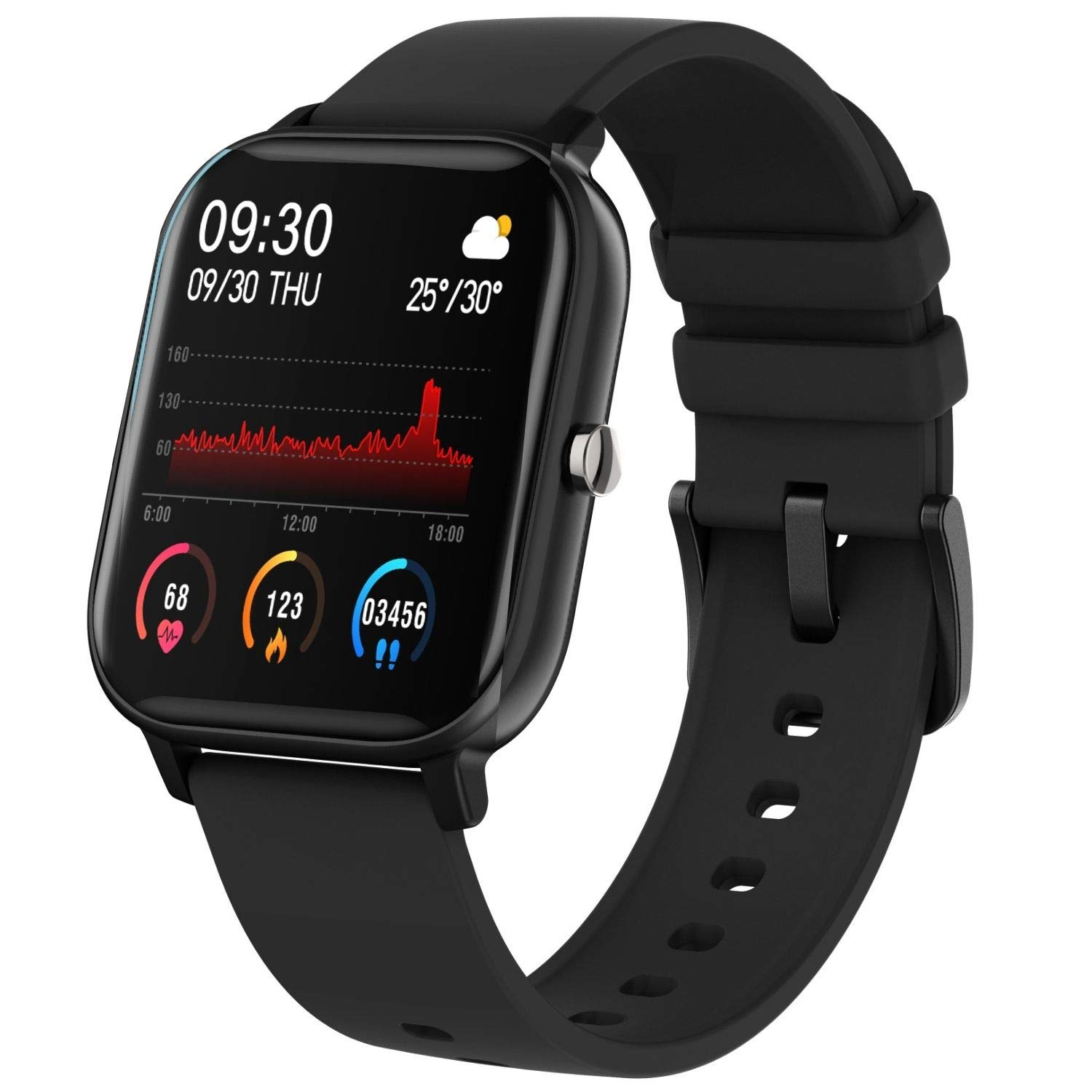 smartwatch with Sp02 Fire Boltt spo2 Full Touch Smartwatch