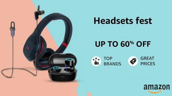 amazon headphones earphones deals and discount