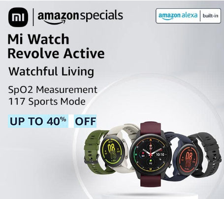 amazon smartwatch with spo2 deals and discount