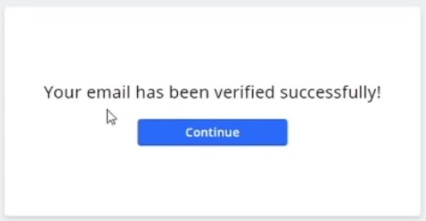 email verified cryptocurrency