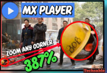 Mx Player Zoom Trick: zoom any area in mx player